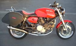 Great Sport touring bike. Lots of power, and Italian quality. Bike has bags, heated grips, and a few other nice add on's. Bike is freshly serviced, saftied, and has new tires. Bike needs nothing and is ready to go. Was bought new in Winnipeg, so it's a