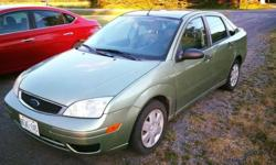Make Ford Colour Mint Green Trans Manual kms 193000 2007 Ford focus for sale (5 speed ,manual) Sun roof , no leaks. Some rust. Clean car. Asking $2000 obo Needs a gas tank to pass sefety. E-tested. Runs great Contact for more details.