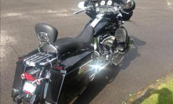 This bike is mint with easy 20,000 dollars of chrome and extra's needs nothing this is a gem loaded cruise,LED High and Low Head lights , leds on all other light, pipes, radio xm, 3 windshield, passenger backrest, helmets, driver backrest, must be seen