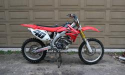 Honda CRF 450 Excellent low hour CRF with all the extras. Built by Machine Racing to contest the 07 Canadian Nationals.  As the second owner, I have raced this bike only a few times and it has only been ridden 4 times in the last year and a half. Go look