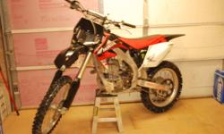 I have a 2007 crf450r up for sale,new valves and springs,front tire,rear tire is at 90% bike runs like new,bike is in very good shape.will trade for 2007 250f and up no lower.