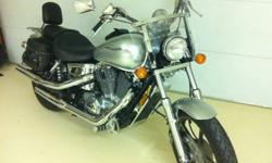 Fall special, Honda Shadow Spirit 1100 for sale. This bike is in mint condition and definitely need to be seen to be truly appreciated. 5700$ neg. Contact: Yves at 229-3139 or via email.