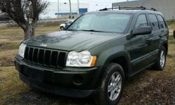 Make Jeep Year 2007 Colour Green Trans Automatic kms 424680 2007 Jeep Grand Cherokee Laredo 4X4 3.7l V6, Automatic, A/C, Cruise Control, Power windows/locks/mirrors & seat. 424,680 km. Certified with E-Test included. Taxes are not included in listing