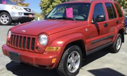 Make Jeep Model Liberty Year 2007 Colour Red kms 152000 Trans Automatic 2007 Jeep Liberty 152,000 km $8,995 + $495 doc + taxes automatic transmission; 3.7L v6 motor; full-time AWD; part-time 4WD high/low; cruise control; power sunroof; power windows /