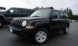 Make Jeep Model Patriot Year 2007 Colour BLACK kms 114400 Trans Manual 2.4L 4 CYLINDER ENGINE, GREAT CONDITION! 4X4, 5-SPEED STANDARD TRANSMISSION, 114,369 KM'S, BLACK EXTERIOR & BLACK/GREY INTERIOR, CD/MP3 PLAYER, AIR CONDITIONING, TRAILER TOW PACKAGE,