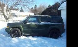 Make Jeep Colour Green Trans Automatic kms 289000 Excellent shape, no rust, loaded, everything works well, 2.4L engine. Very economical all wheel/4 wheel drive, 5 seats, ready to be a dependable new ride. Certified! Would consider a partial trade plus
