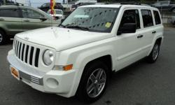 Make Jeep Model Patriot Year 2007 Colour White kms 171000 Trans Automatic 2.4L 4 Cylinder, Automatic, Power Windows, Locks, Mirrors, AC, CD, Aux Input, Alloys, Heated Leather Seats, Sunroof, Foglights, Keyless Entry, ABS, Traction Control, 171,000 Kms