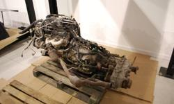have a 3.8L motor that was taken from our latest project vehicle. The jeep had about 19000km on it when we pulled the motor to replace it with a twin turbo 12 Valve Cummins. This motor is perfect running and working condition. The automatic transmission