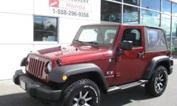 Make Jeep Model Wrangler Year 2007 Colour Red kms 108119 Trans Manual This 4x4 machine is ready to go and start some new adventures. Alloy wheels, BFG A/T tires. Clean inside and out. A must see. Txt or email to set up a time to view this amazing 4x4.