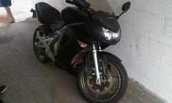PRICED TO SELL NOW! It is an 07 650R ninja, Mint shape, custom flat black paint and carbon fiber tank protector, and will need nothing to cert. its got 5160 miles on it (well under 10,000 km) has been very well maintained and babied. bought from and cert