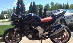 2007 Kawasaki Z1000 excellent condition 19500 km Fender Eliminator Brand New Michelin Pilot 3 Tires Saddle Bags Cover