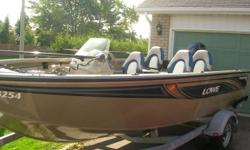 2007 LOWE FM175 FISHING MACHINE 2007 90 FOURSTROKE MERCURY 2007 TRALER WITH SWING AWAY TONGUE CUSTOM FIT TRAVEL COVER FISH FINDER, TROLLING MOTOR, 2 LIVEWELLS 4 DELUXE PEDESTAL SEATS ENTIRE PACKAGE PURCHASED NEW IN OCT./2009 LOW HOURS ON MOTOR EVERYTHING