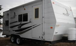 Immaculate 2007 Mallard Sport 18 ft CK trailer for sale. Measures 22 ft from corner to corner hitch not included. Sleeps 7 sofa, dinette, double corner bed, & fold down bunk. Stove, oven, microwave, large fridge, outside shower, lots of storage. This unit