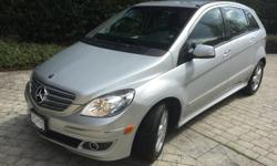 Make Mercedes-Benz Model B-Class Year 2007 Colour Silver kms 69000 Trans Automatic 2007 Mercedes B200, excellent on gas, peppy, good condition, tons of room for 5 passengers and large cargo capacity. Serviced at Mercedes. Xenon, ac, automatic, Sirius