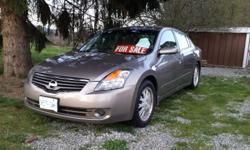"Make Nissan Model Altima Year 2007 Colour tan kms 109000 Trans Automatic 07 altima 2.5s auto, new tires on 17""alloys, brand new brakes, tranny serviced @100,000. Good on gas, runs and drives great. Has a cracked windshield and minor body damage. Car is in"