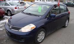 Make Nissan Model Versa Year 2007 Colour Blue kms 215000 Trans Automatic 2007 Nissan Versa with 215000 km , Automatic and A/C . Will come Certified . Come Visit Us Today 916 Montreal Road Ottawa Ontario We are here to Serve you and help you get behind the