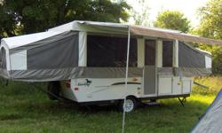 TIME TO MAKE PLANS FOR THE 2012 CAMPING SEASON!!! MAKE US A REASONABLE OFFER !!! Immaculate 2007 Palomino Y-Series Pop Up Trailer Barely used - approx 5 times only and always stored inside in winter. Over $10,000 cdn new, so this is a GREAT deal ! Never