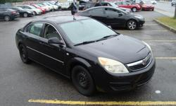 Make Saturn Model Aura Year 2007 Colour Black kms 163000 Trans Automatic 2007 Saturn Aura with 163000 km Clean Car , Sunroof ! Automatic and A/C . Will come Certified . Come Visit Us Today 916 Montreal Road Ottawa Ontario We are here to Serve you and help