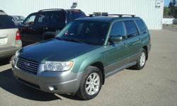 Make Subaru Model Forester Year 2007 Colour green kms 218000 Trans Automatic 2007 Subaru Forester 218,000km AWD Automatic Finance for $1500 down and $89 a week