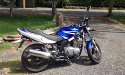 2007 Suzuki GS500 17,800 km Perfect beginner bike or for someone upgrading from a smaller bike or scooter. Has a minor dent in gas tank and a few scratches. Never been involved in an accident but was tipped from standing. See photos attached. I bought