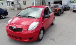 Make Toyota Colour red Trans Manual kms 134362 TOYOTA YARIS ,this car is in very good condition in and outside, very good on gas, low millage only 134362KM SIMPLE PRICING ,ASKING PRICE +HST & LICENSING *Bilingual, no pressure staff A car proof history