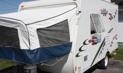 2007 Trail-Lite Crossover RV.....17 1/2 ft. extends to 19 1/2....used only 3 times this summer....wasn't purchased until 2009, sleeps 6....microwave, stove, fridge, shower, air conditioner, hook up for satellite, tv with dvd player, Serious inquiries
