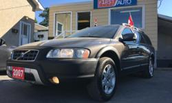 Make Volvo Colour Dark Grey Trans Automatic kms 217000 HELLLOOO OTTTAWAA! SO CLEAN! LEATHER INTERIOR! Security System, AM/FM Stereo, Air Conditioning, Alloy Wheels, Anti-Lock Brakes (ABS), Anti-Theft, CD Player, Driver Side Airbag, Fog Lights,