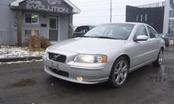 Make Volvo Model S60 Year 2007 Colour SILVER kms 135000 Trans Automatic 6 MONTHS WARRANTY WITH PURCHASE FOR FREE ! 2007 VOLVO S60 PREMIUM CAR !! 2.5L ENGINE TURBO POWERFUL LUXURIOUS RIDE AND EASY ON GAS ! WITH AUTOMATIC TRANSMISSION, FULLY EQUIPPED, FINE