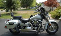 Immaculate Yamaha Roadstar, Silver with factory flames, Bub Jughugger Pipes, Memphis Removable Faring, Yamaha Hard Bags, plus many other extras. Bought new. Serviced every 5k with synthetic oil. Never dropped, rarely rained on. Price reduced to $9,000 or