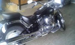 i have a 2008  650 yamaha v-star for sale. it is black with ghost stripes,it has 12,000 km,vance and hines pipe,saddle bags,windshied,etc bike is in great shape $5,900.00 obo call 519-352-5654