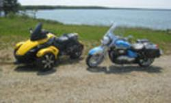 Selling a 2008 Can-Am Spyder Premier Edition # 255. Yellow and Black in color, only 17000 Klms in Excellent condition and still has approx. 1.5 yrs of factory warranty remaining. Dealer maintained. Included in price another set of rims, exhaust, 3