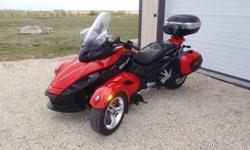 Bought new in 2010. Factory warranty until May 2012. $9500 in accessories. 22000Km (13600 miles), 5 Speed semi-automatic transmission. Kept in excellent condition. Has been an awesome machine to ride and well set up for travelling. Saddle bags and top