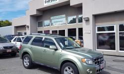 Make Ford Model Escape Hybrid Year 2008 Colour Green kms 130000 Trans Automatic Rare - 2008 Ford Escape Hybrid! One owner! Victoria only! Beat the gas prices with this hybrid. Leather seats, sunroof, dual climate heating controls. In immaculate condition!