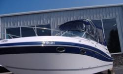 Year : 2008 Make : Fourwinns Model : 278 Motor : Volvo 5.7 GXI DP HP : 320 Price : $56,900 BLOW OUT PRICE! Comments : Arch, Windlass, GPS, Heat n Air & super low hours of 70 Complete Details Call To-Day!