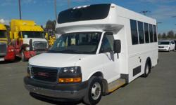 Make GMC Model Savana Year 2008 Colour White kms 256619 Trans Automatic Stock #: BC0030389 VIN: 1GDJG316881229726 2008 GMC Savana G3500 13 Passenger Bus with Wheelchair Accessibility Diesel, 6.6L, 8 cylinder, 2 door, automatic, RWD, cruise control, air