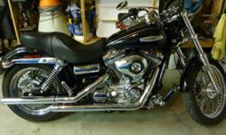 2008 Harley-Davidson Dyna Superglide Custom Always garaged Detachable windshield, backrest, sunglass holder, bag Forward controls Oils changed twice yearly Condition as new