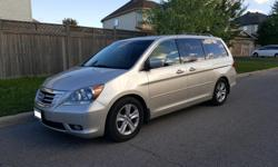 Make Honda Model Odyssey Year 2008 Colour Silver kms 199925 Trans Automatic This fully loaded 2008 Honda Odyssey Touring includes: Silver exterior with Black Leather interior- in excellent condition, Rust Module Installed, Sat Nav, Heated Front Seats,