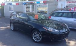 Make Hyundai Colour black Trans Manual kms 153000 the amazing 2008 Hyundai tiburon just arrived ,excellent handling ,Great features and Performance , so if you are in the market looking for a sport 2 door then this Tiburon should be on the top of your