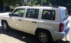 2008 Jeep Patriot | $5,990 + Doc + Taxes Great styling bestows rugged Jeep looks to a carlike vehicle, it has the Handling and maneuverability of a small car, 2.0L 4cylinder engine, Automatic transmission, Vinyl Interior, $5,990 + Doc + Taxes Call us with