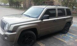Make Jeep Model Patriot Year 2008 Trans Automatic 2008 jeep patriot 2wd 4door power windows and locks has 2 keys and fob for both. roughly 198XXX km.. blown CVT transmission. has both automatic and standard options. new brakes, cv joint, bearings and tie