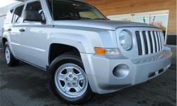 Make Jeep Model Patriot Year 2008 Colour Silver kms 141157 Price: $5,995 Stock Number: J2W1807B VIN: 1J8FT28088D686559 Interior Colour: Black Engine: 2.0L 4 Cylinder DOHC 16V Dual VVT Fuel: Gasoline Power Windows! This 2008 Jeep Patriot has a 2.0L 4