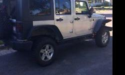 Make Jeep Model Wrangler Year 2008 Colour Grey kms 89000 Trans Manual The 2008 Jeep Wrangler is an excellent SUV/ Crossover with only 89,000 km. The Wrangler has off-road and go anywhere capabilities. It Wrangler boasts excellent performance, classic