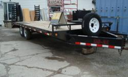 2008 Load Max 14000 LB. Deckover Equipment Hauler in excellent condition.(Price was $7200.00 new).Asking $4600.00.Must go ,make a reasonable offer and its yours.Call 519-344-7284
