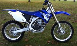 450cc, liquid-cooled, four stroke One previous owner, not raced, low hours Great shape, runs strong! New rear tire, sprocket, chain and grips No straight trades please! Financing available! Alice (705) 241-0176 or Robert (705) 790-5685 For more info,