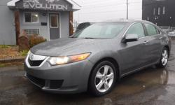 Make Acura Model TSX Year 2009 Colour GREY kms 173000 Trans Automatic 6 MONTHS WARRANTY WITH PURCHASE FOR FREE ! 2009 ACURA TSX 2.4L ENGINE EASY ON GAS !! LOADED WITH AUTOMATIC TRANSMISSION, FULLY EQUIPPED SUNROOF, POWER SEAT, BLUETOOTH, KEYLESS ENTRY,,