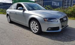 Make Audi Model A4 Year 2009 Colour GREY kms 126100 Trans Automatic 2009 Audi A4 Fully Loaded Navigation Backup Camera 126km Local Car Heated Seats Bluetooth Aux Duel Climate Control Keyless Entry Sunroof Power Trunk Power Memory Seats Automatic &