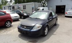Make Chevrolet Colour blue Trans Automatic kms 168052 REDUCED PRICE !! 2009 chevy cobalt , Automatic transmission , Power Locks, Power Windows ,Power Mirrors, ,AC, 4 Cyl 2.2 L engine , Spacious ,Clean and Reliable Vehicle , a CarProof history Report
