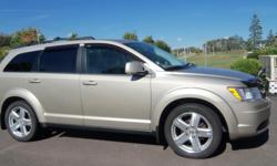 "Make Dodge Colour Tan Trans Automatic kms 93509 2009 Dodge Journey SXT, V-6 3.5L engine, 93,509km, 19"" wheels, dual-exhaust, oil-rust proofed, serviced every 5000km, Excellent Condition, always kept in garage. 9800.00.........no emails 902-218-4311."