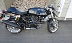 For sale is my 2009 Ducati sport classic sport 1000 bi posto(2 seater). All original stock bike just the way I like it. L-twin engine sounds amazing(desmodromic valves), wet clutch. Always stored indoors. Last year of this bike, very rare limited