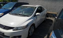 Make Honda Model Civic Year 2009 Colour white kms 126000 Trans Automatic 126160kms automatic , 1.8 litre 4 cylinder Power windows power door locks, power mirrors, am/fm/cd/bluetooth kenwood stereo, fog lights, cruise control , air conditioning, alloy